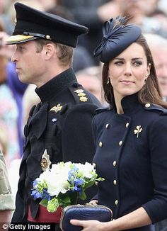 Duchess of Cambridge to hand out operation medals to Irish Guards in first military role as a royal | Mail Online