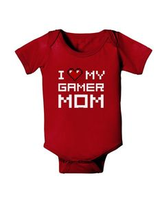 TooLoud Mom Cubed Cute Mom of Three Design Baby Romper Bodysuit