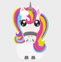 Rainbow Unicorn Horse Pony Soft Silicone Rubber Case Cove For iPhone iPad UK Weird Phone Cases, Ipod 5 Cases, Iphone Cases, Coque Iphone 5s, Iphone 7, Telephone Iphone, Unicorn Phone Case, Unicorn Gifts, Unicorn Rooms