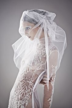 ☫ A Veiled Tale ☫ wedding, artistic and couture veil inspiration - Sorcha O'Raghallaigh Tutu, Elite Fashion, Beauty And Fashion, Wedding Gowns, Bridal Veils, Spring Summer, Summer 2014, Marie, Fashion Photography