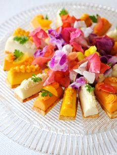 WHAT A WONDERFUL WORLD!! おいしい花を咲かせましょ 『ELLE a table』はおしゃれで簡単なレシピが満載!