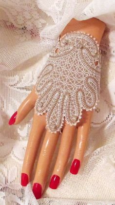Lined Bridal Fingerless Gloves Ivory Beige by joyspecialties, $25.95