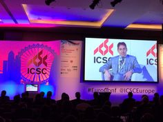 Our CEO Davide Padoa speaking in #London at the #ICSC European Conference 2015 #architects #architecture #architectsatwork #retail