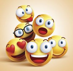 smiley faces group of vector emoticon characters with funny facial expressions. Smiley Emoji, Emoji Faces, Smiley Faces, Smile Wallpaper, Cute Emoji Wallpaper, Funny Iphone Wallpaper, Cute Cartoon Wallpapers, Colorful Wallpaper, Wall Wallpaper