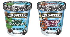 Christmas 2014: Minter Wonderland and Joy to the Swirled ice cream from Ben & Jerry's
