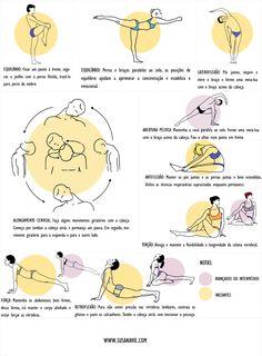 Existem várias técnicas de Yôga que podem ser facilmente aplicadas no dia-a-dia, para deste modo aliviar o excesso de tensão devido àposição do corpo (sentado ao computador, no carro, em pé, etc.)…