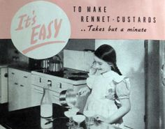 It's easy to make rennet custards, pamphlet. 1938