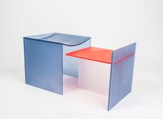 Acrylic Slot Table Coffee & Side Tables FURNITURE