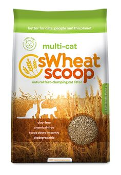 Swheat Scoop Multi-Cat Litter *** Check out this great product. (This is an affiliate link and I receive a commission for the sales)
