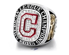 Cleveland Indians American League Championship Rings.