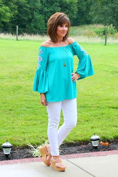 Summer Fashion Over 40-Boho Inspired Tunic