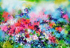Original Paintings For Sale, Buy Paintings, Original Artwork, Painting Edges, Acrylic Painting Canvas, Painting Flowers, Price Artwork, Flower Artists, Acrylic Spray