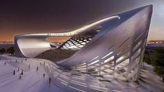 Bogota International Convention Center   Zaha Hadid Architects