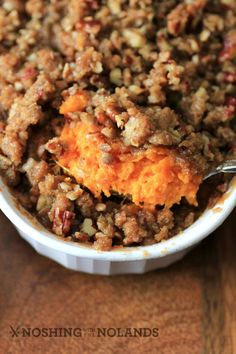 Ruth's Chris Copycat Sweet Potato Casserole by Noshing With The Nolands