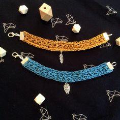 ▷ Bracelet au crochet (tuto)
