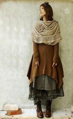 layers...love them!  knitspiration