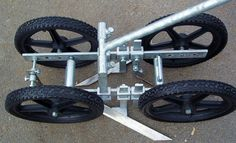 Physical Weeding - The 4 Wheel Hoe Homestead Gardens, Farm Gardens, Best Garden Tools, Gardening Tools, Garden Cultivator, Digging Tools, Kubota Tractors, Steel Fabrication, Tractor Mower