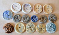 ceramic buttons, need to make some of these.