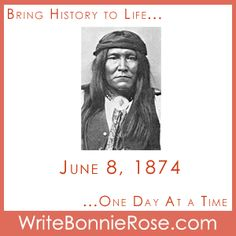 Timeline Worksheet: June 8, 1874, Cochise