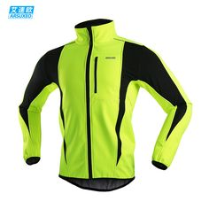 Cheap jackets jeans for men, Buy Quality jersey fc directly from China jersey jacket price Suppliers: ARSUXEO 2017 Thermal Cycling Jacket Winter Warm Up Bicycle Clothing Windproof Waterproof Soft shell Coat MTB Bike Jersey Mtb Bike, Cycling Bikes, Cycling Equipment, Survival Equipment, Road Cycling, Road Bike Clothing, Cycling Clothing, Men's Clothing, Softshell Mantel