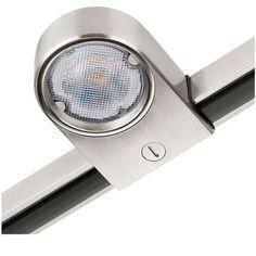 Railspot Zip Star geborsteld staal 5W LED 230V 3000K 3029 SG