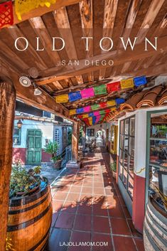 What to do, where to eat and what to see in Old Town San Diego! My ultimate travel guide for one of my favorite areas of town. La Jolla Mom Old Town San Diego Guide San Diego Vacation, San Diego Travel, Shopping In San Diego, California Vacation, California Dreamin', California Quotes, California Burrito, California Mountains, California Closets