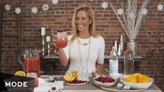 If there's one thing we know about Dina Manzo, it's that she knows how to throw a party. So when it came to finalizing our holiday cocktail menu, we knew exactly who to call. Our Haute Hostess is back with everything you need to spice up your hot toddy and update your vodka spritzer. Don't forget to thank us when they become your party circuit staple :) Cheers!