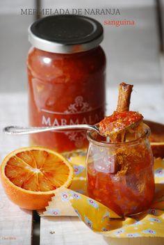 Mermelada de naranja sanguina con canela