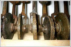 herramientas de hierro
