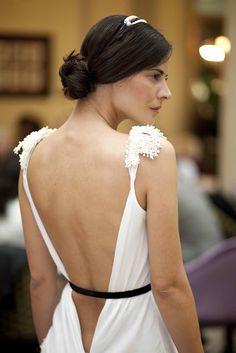 Bodas chic // Chic Weddings: Helena Mareque novia chic #HelenaMareque
