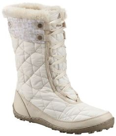 Don't let the boldly flirtatious name and the faux fur fool you, these insulated boots are warm, waterproof and have a grip that just won't quit. Rated at -25F/-32C, these cold-weather stompers are loaded with style and performance.
