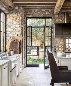 66 Amazing Rustic French Country Cottage Kitchen Ideas - Have Fun Decor - Rustic French Country Cottage Kitchen 15 Best Picture For country home decor For Your Taste You a - Rustic French Country, Rustic Country Kitchens, Country Kitchen Designs, Rustic Kitchen Design, Farmhouse Kitchen Decor, French Country Decorating, Rustic Farmhouse, French Countryside, Kitchen Modern