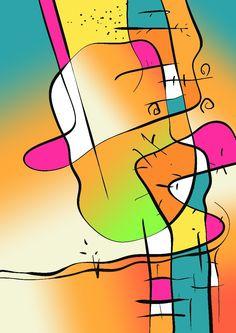 Mural Painting, Disney Characters, Fictional Characters, Mosaic, Digital Art, Wall Art, Abstract, Board, Prints