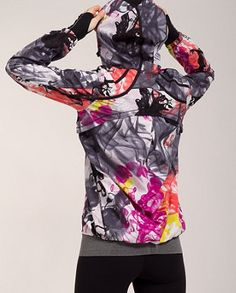 An awesome running jacket for the cold weather (lululemon lined running jacket. )