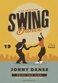 Image result for vintage swing dance posters