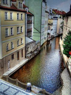 Rainbow River,Prague,Czech Republic