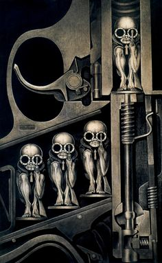 """Birth Machine"" by H.R. Giger"