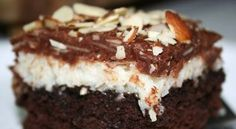 Almond joy cake + pop