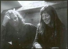 Jim Morrison and Pamela Courson, Paris, June, 1971