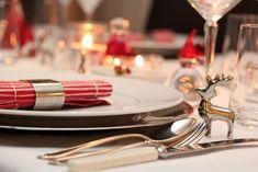 dekket bord jul