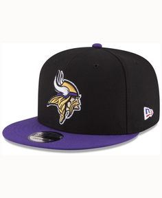 New Era Minnesota Vikings Crafted in America 9FIFTY Snapback Cap