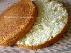 Идеальный бисквит для идеального торта!