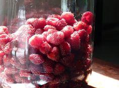 Cómo hacer mermelada sin azúcar, ni gelatina, ni cocción- licuar frambuesas