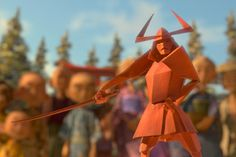 'Kubo and the Two Strings' Blends Animation and Origami Laika Studios, Kubo And The Two Strings, Japanese Folklore, Origami Bird, Movie Wallpapers, Halloween 2016, Animation Film, Clay Animation, Kids Events