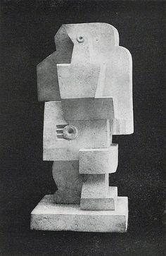 Jacques Lipchitz, 1920, Man with Guitar