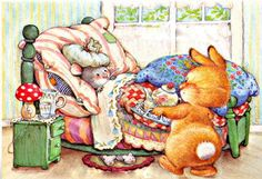 inbed.quenalbertini: Get well soon! by Lisi Martin