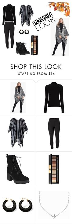 """""""Autumn Perfection"""" by nermin-truma ❤ liked on Polyvore featuring White House Black Market, Misha Nonoo, Venus, Yves Saint Laurent, Palm Beach Jewelry, Minnie Grace, autumn, polyvoreeditorial, polyvorefashion and plus size clothing"""