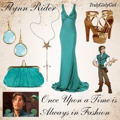 """Disney Style: Flynn Rider"" by trulygirlygirl ❤ liked on Polyvore"