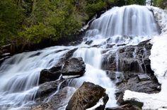 Beaver Brook Falls in Colebrook, NH, courtesy of Doug Harrington.
