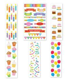 Look what I found on #zulily! Best Birthday Sticker Set #zulilyfinds